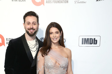 Ashley Greene Paul Khoury IMDb LIVE Presented By M&M'S At The Elton John AIDS Foundation Academy Awards Viewing Party