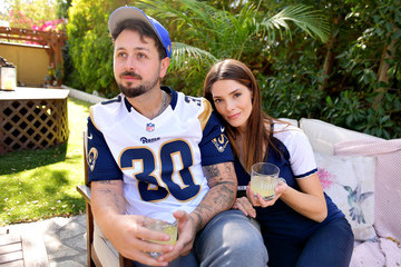 Ashley Greene Paul Khoury 1800 Tequila And Ashley Greene Host Ultimate At-Home Tailgate With 1800 LA Rita Cocktails Ahead Of The LA Rams Game On Monday Night Football