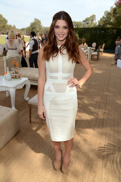 Ashley Greene - Third Annual Veuve Clicquot Polo Classic - Los Angeles - Inside