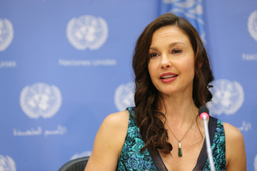 Ashley Judd Ashley Judd Appointed As The UN Population Fund's (UNFPA) Goodwill Ambassador