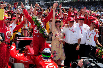 Ashley Judd (FILE) Dario Franchitti Retires