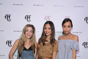 Ashley Madekwe Abercrombie & Fitch Summer Rooftop Party