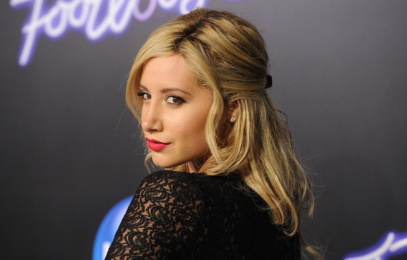 Ashley Tisdale Actress Ashley Tisdale arrives at Paramount Pictures' premiere of 'Footloose' held at the Regency Village Theatre on October 3, 2011 in Los Angeles, California.