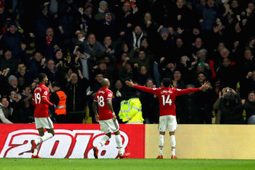 Ashley Young Watford v Manchester United - Premier League