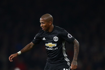 Ashley Young Arsenal v Manchester United - Premier League