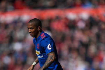 Ashley Young Middlesbrough v Manchester United - Premier League
