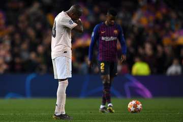 Ashley Young FC Barcelona v Manchester United - UEFA Champions League Quarter Final: Second Leg