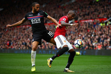 Ashley Young Manchester United v Crystal Palace - Premier League
