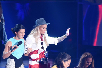 Ashlyn Harris The Nickelodeon Kids' Choice Sports Awards 2015