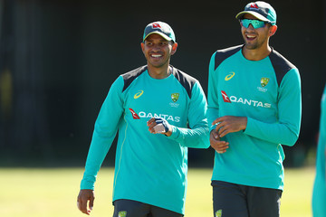 Ashton Agar Australia A Training Session
