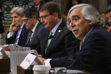 Ashton Carter Top Administration Officials Testify to Senate Armed Services Committee Hearing on Military Balance In Mid East