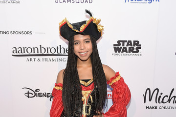 Asia Monet Ray Dream Halloween 2017 Costume Party Benefitting Starlight Children's Foundation on October 21 in Los Angeles Presented by Michaels and Aaron Brothers - Red Carpet