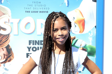 Asia Monet Ray Premiere of Warner Bros. Pictures' 'Storks' - Arrivals