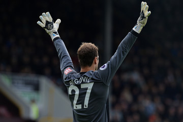 Asmir Begovic Burnley FC v AFC Bournemouth - Premier League