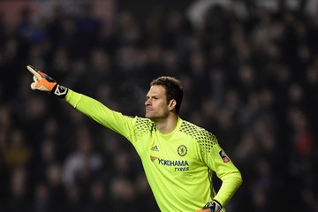 Asmir Begovic Wolverhampton Wanderers v Chelsea - The Emirates FA Cup Fifth Round