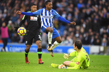 Asmir Begovic Brighton and Hove Albion v AFC Bournemouth - Premier League