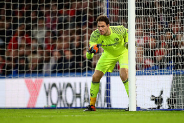 Asmir Begovic Chelsea v Brentford - The Emirates FA Cup Fourth Round