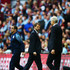 Arsene Wenger Tim Sherwood Photos - Tim Sherwood manager of Aston Villa looks towards Arsene Wenger manager of Arsenal during the FA Cup Final between Aston Villa and Arsenal at Wembley Stadium on May 30, 2015 in London, England. - Aston Villa v Arsenal - FA Cup Final