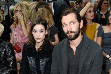 Astrid Berges Frisbey Front Row at Chanel