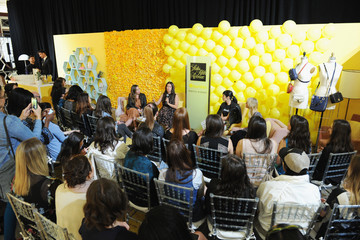 Athena Calderone Bumble Hive At Saks Fifth Avenue Hosts Women Empowerment Panel Discussion With Designer Rebecca Minkoff, EyeSwoon Creator Athena Calderone And Marie Claire Editor At Large Zanna Roberts Rassi