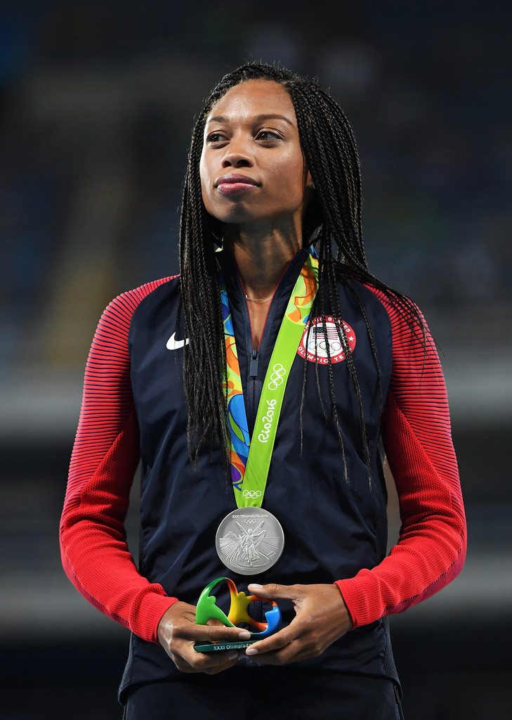 allyson felix photos photos athletics olympics day 11