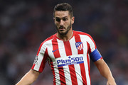 Koke of Atletico Madrid in action during the UEFA Champions League group D match between Atletico Madrid and Juventus at Wanda Metropolitano on September 18, 2019 in Madrid, Spain.