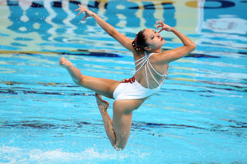 Atsushi Abe Synchronised Swimming - 16th FINA World Championships: Day Four