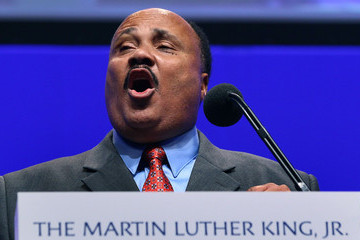Martin Luther King III Attorney Gen. Eric Holder Speaks At MLK Jr. National Memorial Project Foundation Event