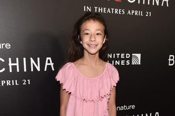 Aubrey Anderson-Emmons Los Angeles Premiere Of Disneynature's 'Born in China'