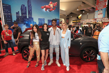 Aubrey Joseph Hyundai Kona Iron Man At San Diego Comic-Con 2018 - Day 3