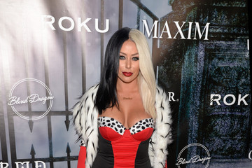 Aubrey O'Day MAXIM Magazine's Official Halloween Party - Arrivals
