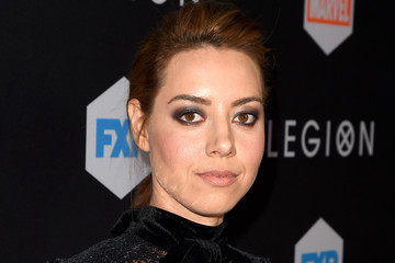 Aubrey Plaza Premiere Of FX's 'Legion' - Red Carpet