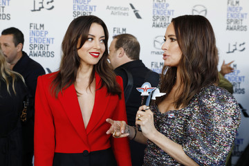 Aubrey Plaza American Airlines at The 2020 Film Independent Spirit Awards