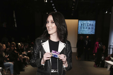 Aubrie Sellers Nolcha Shows Runway New York Fashion Week Fall Winter 2017 Front Row