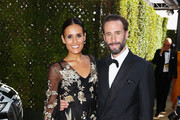 Maria Dolores Dieguez (L) and Joseph Fiennes attend Audi at The 70th Annual Emmy Awards at Microsoft Theater on September 17, 2018 in Los Angeles, California.