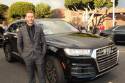 Actor Ryan Kwanten arrives in an Audi Q7 to the 25th Annual Elton John AIDS Foundation's Oscar Viewing Party at The City of West Hollywood Park>> at The City of West Hollywood Park on February 26, 2017 in West Hollywood, California.