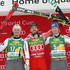 Hannes Reichelt Kjetil Jansrud Photos - Max Franz of Austria takes 2nd place, Kjetil Jansrud of Norway takes 1st place, Hannes Reichelt of Austria takes 3rd place during the Audi FIS Alpine Ski World Cup Men's Super G  on November 26, 2017 in Lake Louise, Canada. - Audi FIS Alpine Ski World Cup - Men's Super G