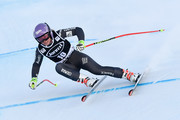 Tessa Worley of France competes during the Audi FIS Alpine Ski World Cup Women's Combined on December 16, 2016 in Val-d'sere, France