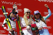 Lindsey Vonn and Anna Fenninger Photos Photo