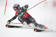 Tessa Worley of France competes during the Audi FIS Alpine Ski World Cup Women's Giant Slalom on December 28, 2016 in Semmering, Austria