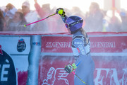 Tessa Worley of France takes 2nd place during the Audi FIS Alpine Ski World Cup Women's Giant Slalom on December 19, 2017 in Courchevel, France.
