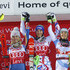 Wendy Holdener Petra Vlhova Photos - Mikaela Shiffrin of USA takes 2nd place, Petra Vlhova of Slovakia takes 1st place, Wendy Holdener of Switzerland takes 3rd place during the Audi FIS Alpine Ski World Cup Women's Slalom on November 11, 2017 in Levi, Finland. - Audi FIS Alpine Ski World Cup - Women's Slalom