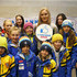 Lindsey Vonn Photos - Lindsey Vonn of USA speaks with children during a press conference.She will be ambassador for the Winter Youth Olympic Games of Lausanne 2020 . on December 10, 2017 in St Moritz, Switzerland. - Audi FIS Alpine Ski World Cup - Women's Super G