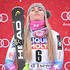 Lindsey Vonn Photos - Lindsey Vonn of USA takes 1st place during the Audi FIS Alpine Ski World Cup Women's Super G on December 16, 2017 in Val-d'Isere, France. - Audi FIS Alpine Ski World Cup - Women's Super G