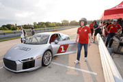 Dax McCarty attends as Audi hits the track with Major League Soccer All-Star players ahead of MLS All-Star Game in Chicago at Autobahn Country Club on August 1, 2017 in Joliet, Illinois.