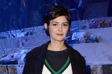 Audrey Tautou Front Row at H&M