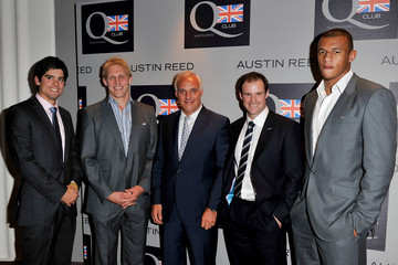 Nick Hollingworth Austin Reed Q Club Launch