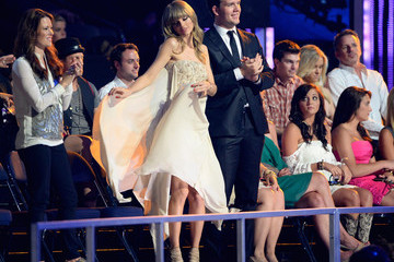 Austin Swift Backstage at the CMT Music Awards