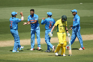 Umesh Yadaav Australia v India - ICC CWC Warm Up Match
