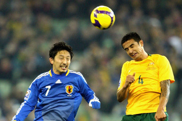 Hideo Hashimoto Australia v Japan - 2010 FIFA World Cup Asian Qualifier